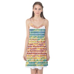 Weather Blue Orange Green Yellow Circle Triangle Camis Nightgown