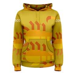 Animals Scorpio Zodiac Orange Yellow Women s Pullover Hoodie
