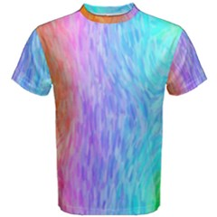 Abstract Color Pattern Textures Colouring Men s Cotton Tee by Simbadda