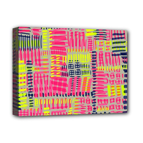 Abstract Pattern Deluxe Canvas 16  X 12   by Simbadda