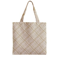 Background Pattern Zipper Grocery Tote Bag by Simbadda