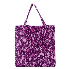 Chic Camouflage Colorful Background Grocery Tote Bag