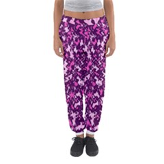 Chic Camouflage Colorful Background Women s Jogger Sweatpants by Simbadda