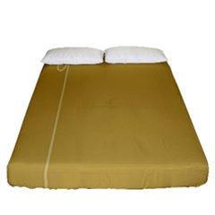 Brown Paper Packages Fitted Sheet (queen Size)