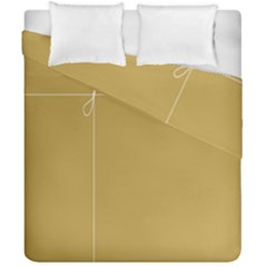 Brown Paper Packages Duvet Cover Double Side (california King Size)