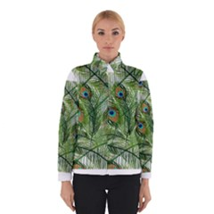 Peacock Feathers Pattern Winterwear
