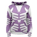 Colorful Butterfly Hand Purple Animals Women s Pullover Hoodie View1