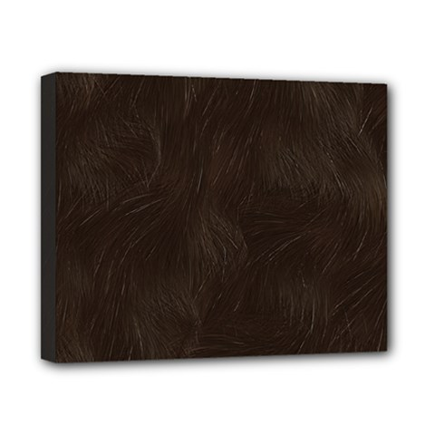 Bear Skin Animal Texture Brown Canvas 10  X 8  by Alisyart