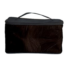 Bear Skin Animal Texture Brown Cosmetic Storage Case by Alisyart