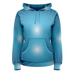 Dreams Sun Blue Wave Women s Pullover Hoodie