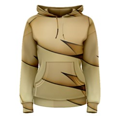 Edge Gold Wave Women s Pullover Hoodie