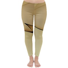 Edge Gold Wave Classic Winter Leggings
