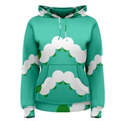Little Butterfly Illustrations Caterpillar Green White Animals Women s Pullover Hoodie