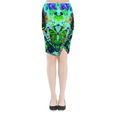 Eco Centered Midi Wrap Pencil Skirt by AlmightyPsyche