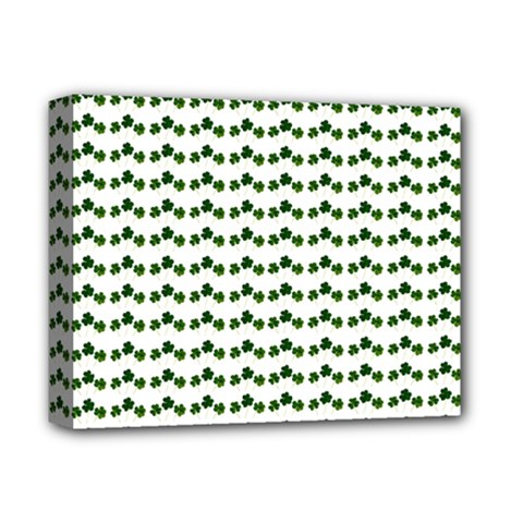 Shamrock Deluxe Canvas 14  X 11  by boho