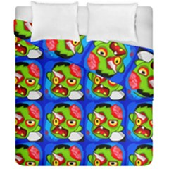 Zombies Duvet Cover Double Side (california King Size) by boho