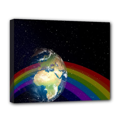 Earth Deluxe Canvas 20  X 16   by boho