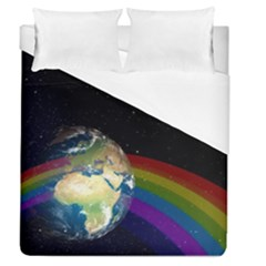 Earth Duvet Cover (queen Size) by boho