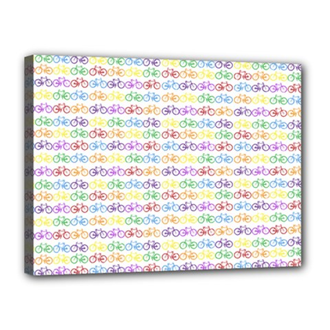 Bicycles Canvas 16  X 12  by boho