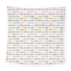 Bicycles Square Tapestry (large) by boho