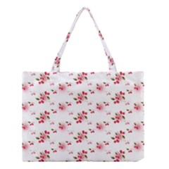 Vintage Cherry Medium Tote Bag
