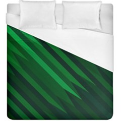 Abstract Blue Stripe Pattern Background Duvet Cover (king Size)