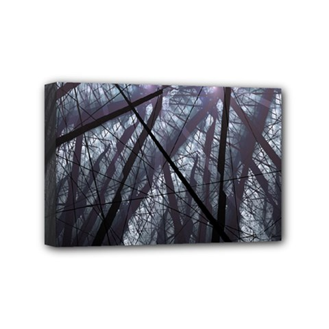 Fractal Art Picture Definition  Fractured Fractal Texture Mini Canvas 6  X 4  by Simbadda