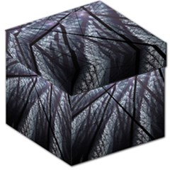 Fractal Art Picture Definition  Fractured Fractal Texture Storage Stool 12   by Simbadda