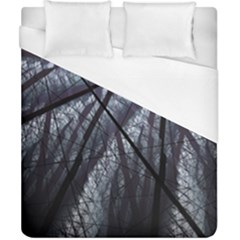 Fractal Art Picture Definition  Fractured Fractal Texture Duvet Cover (california King Size) by Simbadda