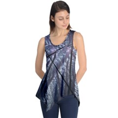 Fractal Art Picture Definition  Fractured Fractal Texture Sleeveless Tunic by Simbadda