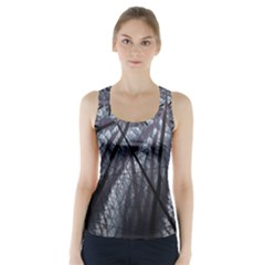 Fractal Art Picture Definition  Fractured Fractal Texture Racer Back Sports Top by Simbadda