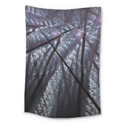 Fractal Art Picture Definition  Fractured Fractal Texture Large Tapestry by Simbadda