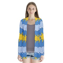 Sunshine Tech Blue Cardigans