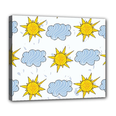 Sunshine Tech White Deluxe Canvas 24  X 20