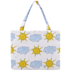 Sunshine Tech White Mini Tote Bag