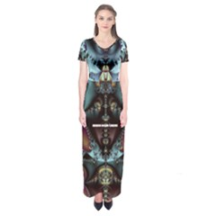 Ddddd11 Short Sleeve Maxi Dress by 2408