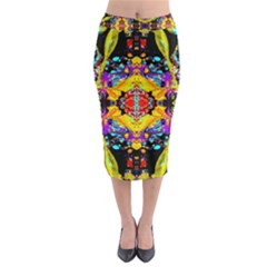 Raa Unconditional Love Midi Pencil Skirt by AlmightyPsyche