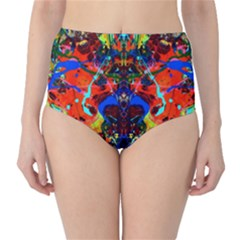 Breath Of Life High Waist Bikini Bottoms by AlmightyPsyche