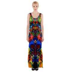Breath Of Life Maxi Thigh Split Dress by AlmightyPsyche