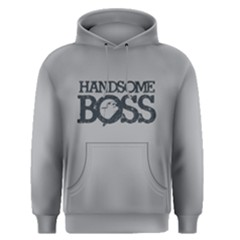 Handsome Boss   Men s Pullover Hoodie by FunnySaying