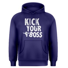Kick Your Boss   Men s Pullover Hoodie by FunnySaying