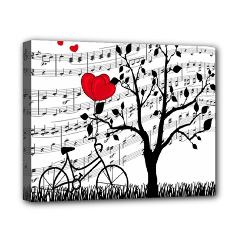 Love Song Canvas 10  X 8  by Valentinaart