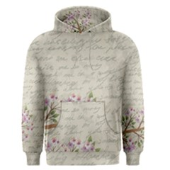 Cherry Blossom Men s Pullover Hoodie by Valentinaart