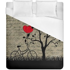 Love Letter Duvet Cover (california King Size) by Valentinaart