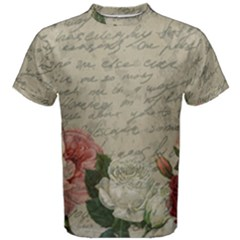 Vintage Roses Men s Cotton Tee
