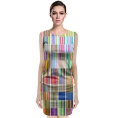 Overlays Graphicxtras Patterns Classic Sleeveless Midi Dress