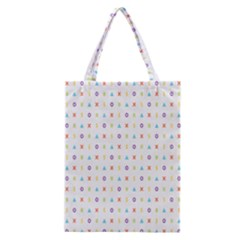Sign Pattern Classic Tote Bag