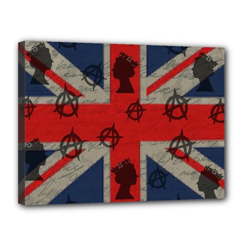 United Kingdom  Canvas 16  X 12  by Valentinaart