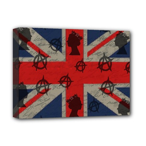 United Kingdom  Deluxe Canvas 16  X 12   by Valentinaart