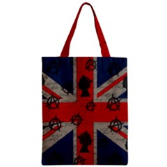 United Kingdom  Zipper Classic Tote Bag by Valentinaart